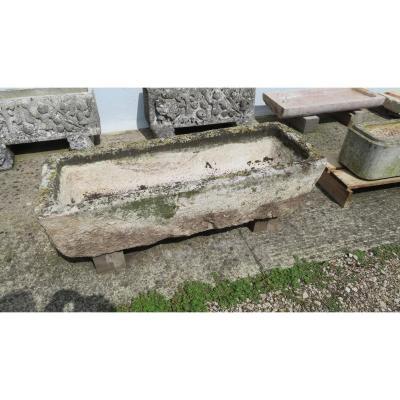 Burgundy Stone Trough
