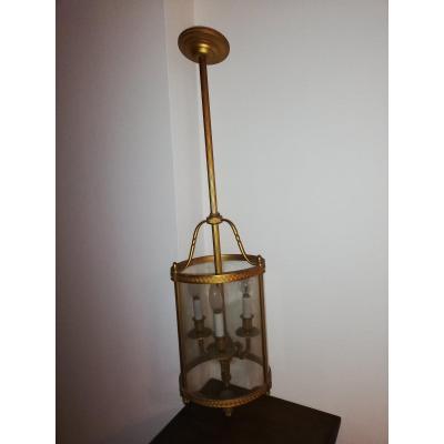 Lanterne Bronze XIX Style Louis XVI