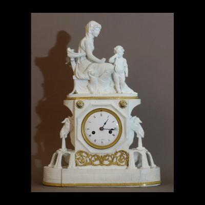 - Pendule A La Fontaine Epoque Directoire