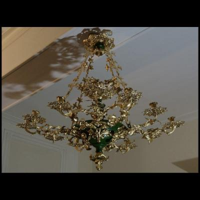 Large Chandelier Restauration Period