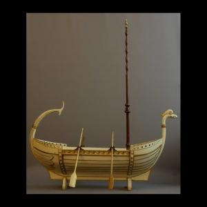 - Grand Rafraichissoir En Navire XIXème