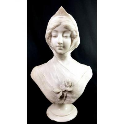 Signed Marble Bust