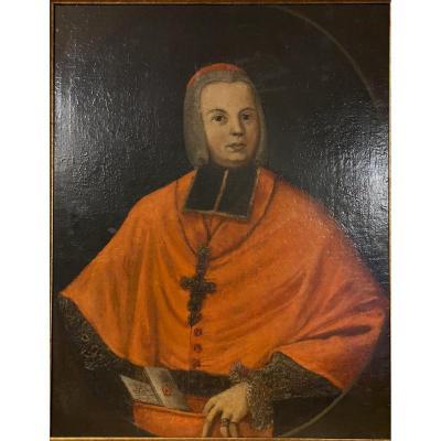 Portrait XVIII ème De L'archevêque François Christophe Freiherr