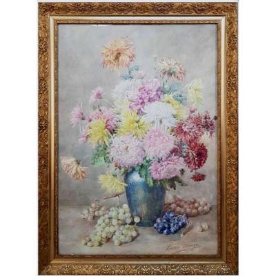 Puisoye Marie Louise (1855-1942) Aquarelle