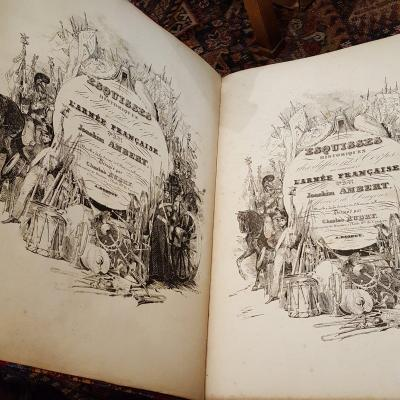 Joaquim Ambert: Historical Sketches Of The Different Corps Of The French Army 1835