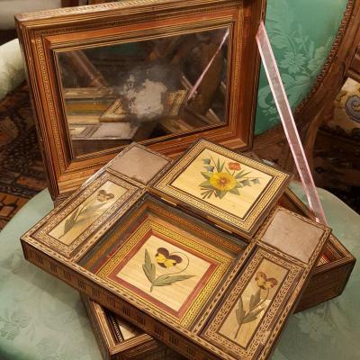 Louis XVI Marquetry Box