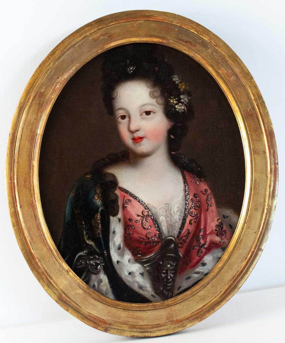Portrait d'Une Princesse Royale.