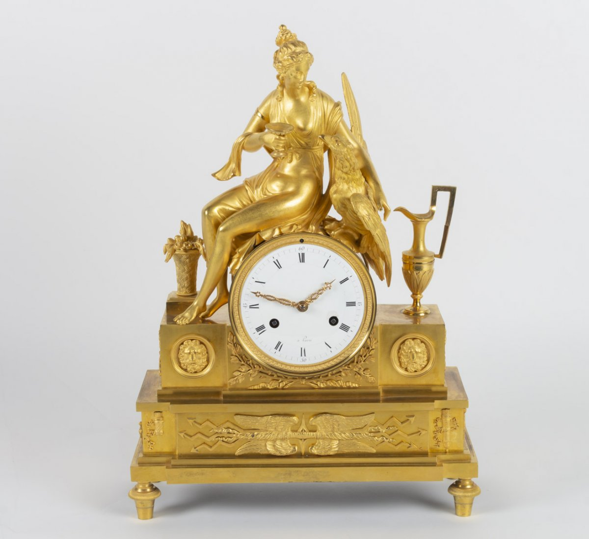 Pendule d'époque 1er Empire (1804 - 1815).