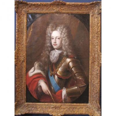 Portrait De Philippe V d'Espagne.