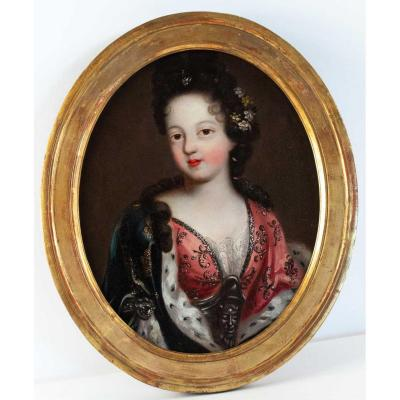Portrait Of A Royal Princess.