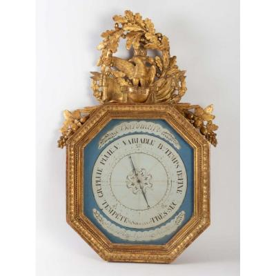 A First Empire Period (1804 - 1815) Barometer