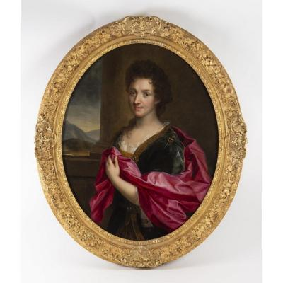 Gabriel Revel (1643-1712): Portrait Of A Lady.