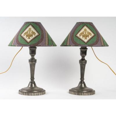 A Pair Of Lamps.