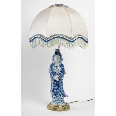 A China Porcelain Lamp.