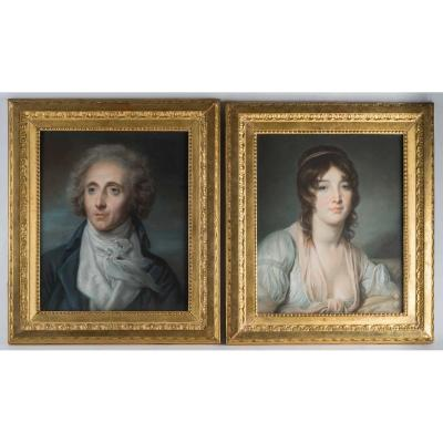A Pair Of Portraits.