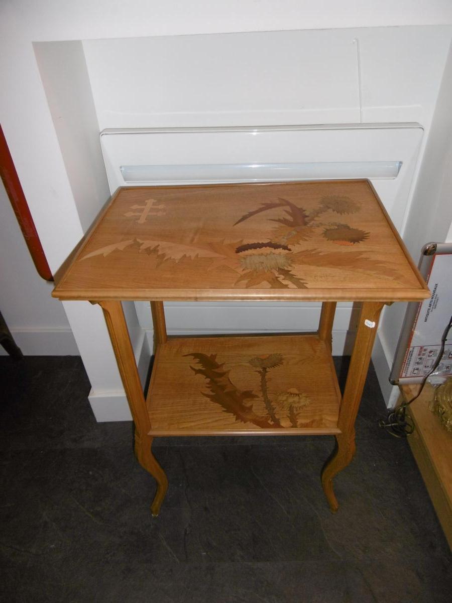 Table A Thé Emile Gallé Art Nouveau