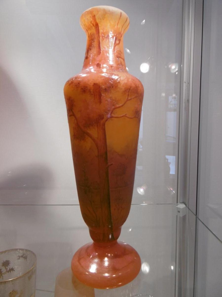 Vase Daum Art Nouveau
