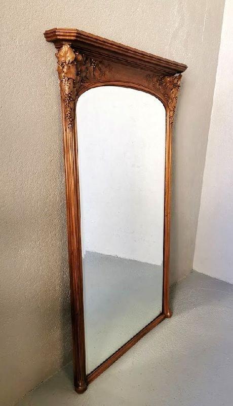 Miroir Art Nouveau Ecole De Nancy Justin Ferez-photo-1