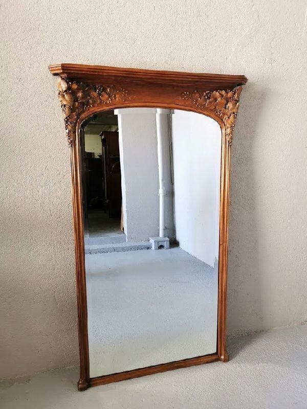 Miroir Art Nouveau Ecole De Nancy Justin Ferez