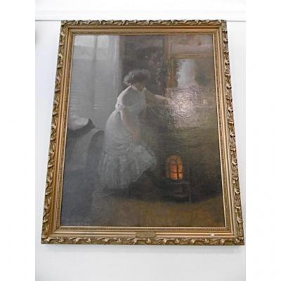 Peinture Symboliste Art Nouveau