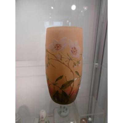 Vase Daum époque 1900 Art Nouveau