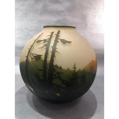 Vase Muller Art Nouveau
