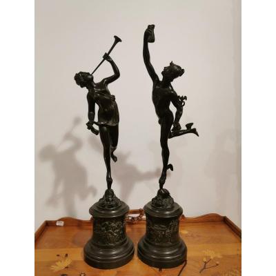 Bronze d'Après Jean De Bologne