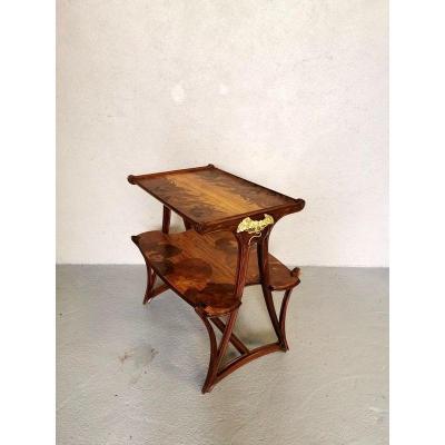 Majorelle Table Aux Butomées Art Nouveau