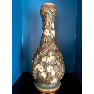 Amphora Large Modernist Art Nouveau Vase