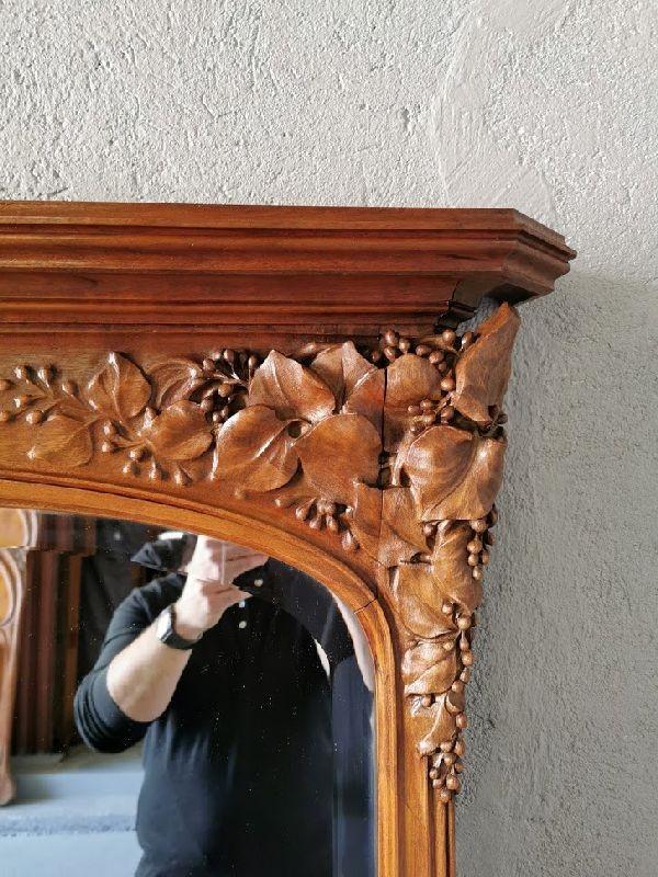 Miroir Art Nouveau Ecole De Nancy Justin Ferez-photo-2