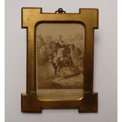 Portrait Carte Photographie Du Prince Impérial, Fils De Napoléon III,  Vers 1876-79