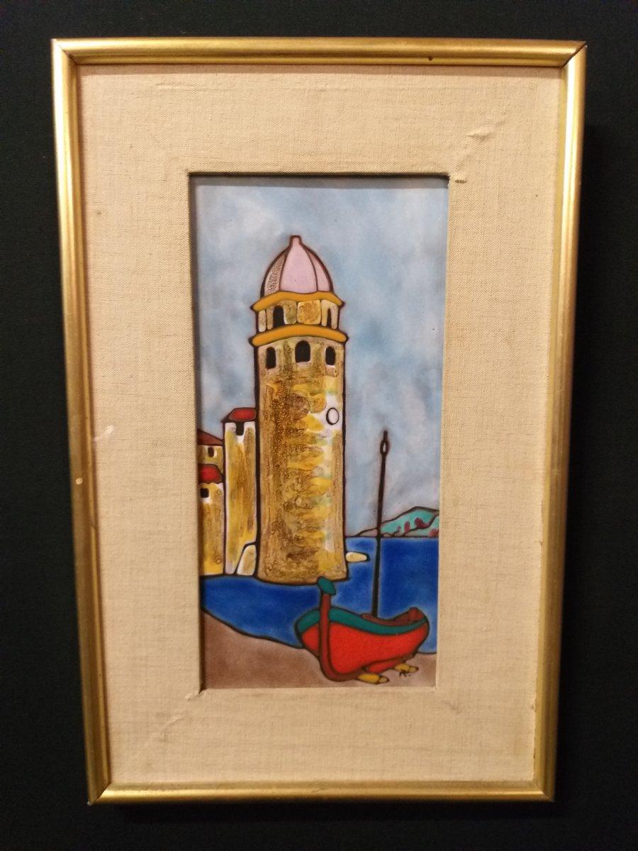 Carreau En Céramique Des Rois De Majorque