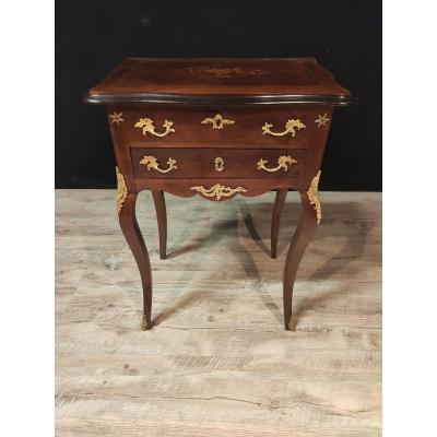 Louis XV Style Inlaid Worker