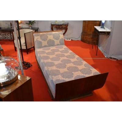 banquette ancienne canap ancien sur proantic art d co. Black Bedroom Furniture Sets. Home Design Ideas