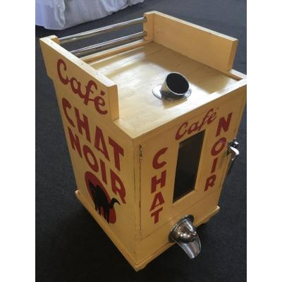 Coffee Roasting Cabinet. The Black Cat . Great Coffee Brand