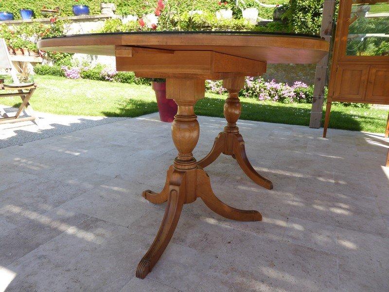 Table De Style Régency Anglaise En Merisier -photo-2