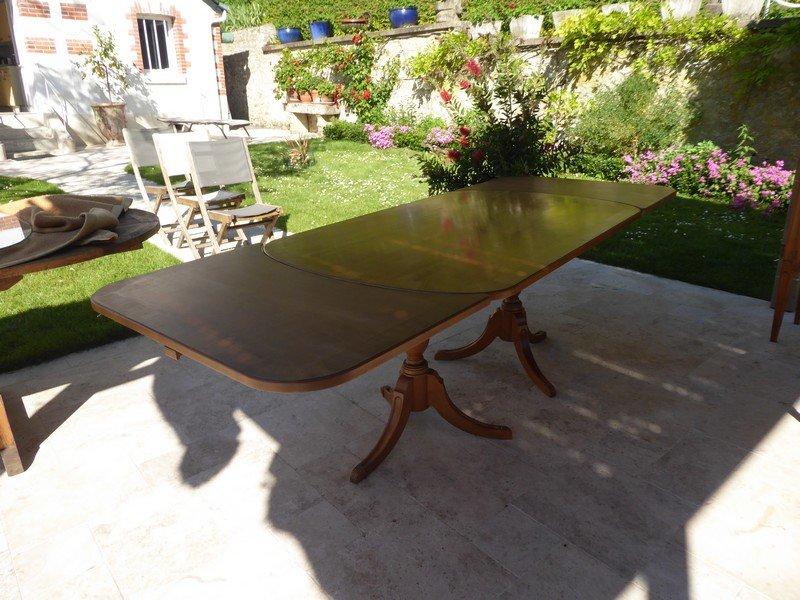Table De Style Régency Anglaise En Merisier -photo-3