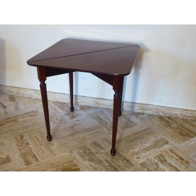 Table Portefeuille En Acajou XIX° De Style Louis XVI