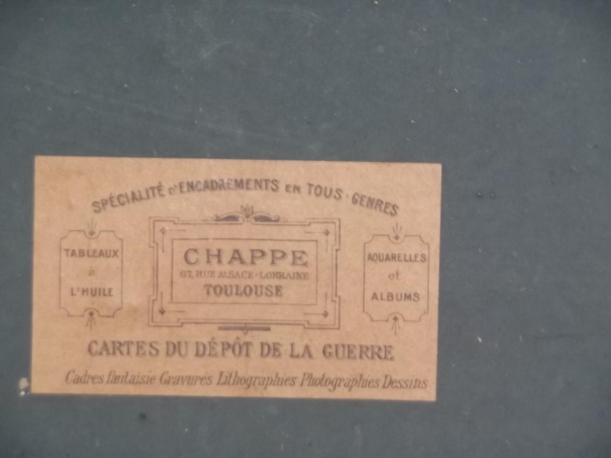 Gouache Orientaliste Signée Paul Pascal, 1871 -photo-4