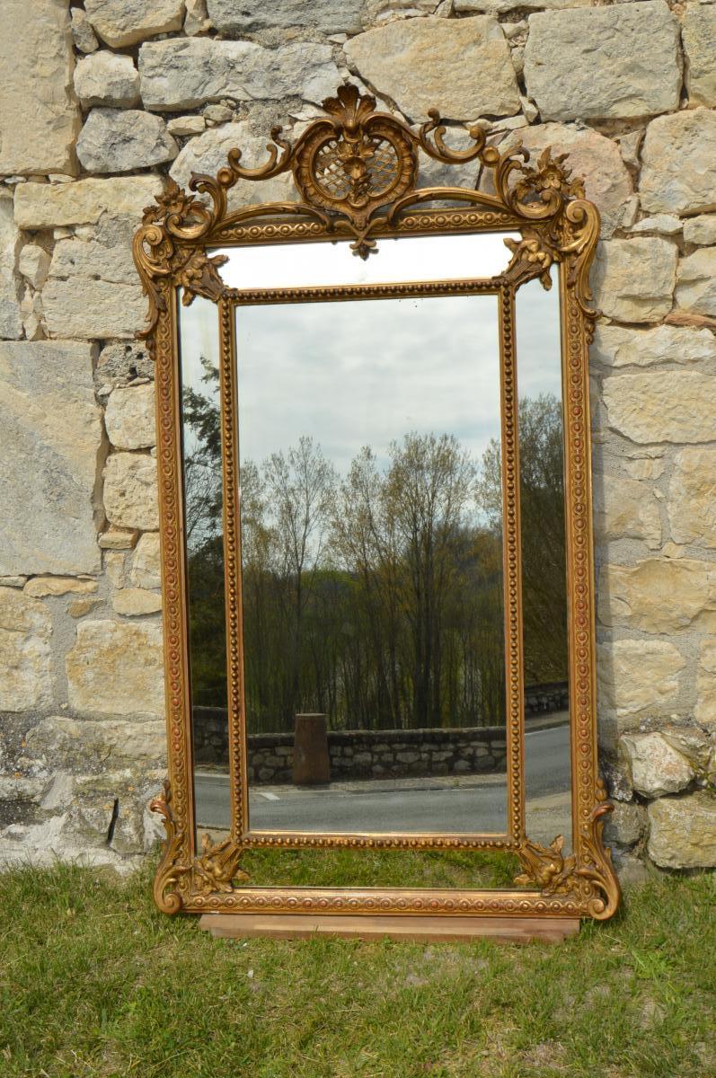 Miroir à Parecloses XIX ème