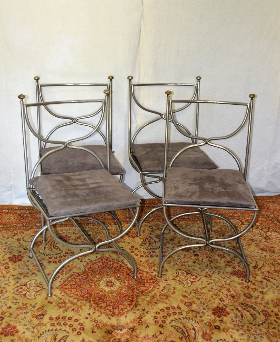 Set Of 4 Chairs From Jansen House