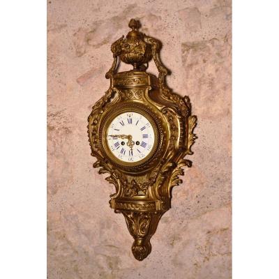 Cartel En Bronze De Style Louis XVI
