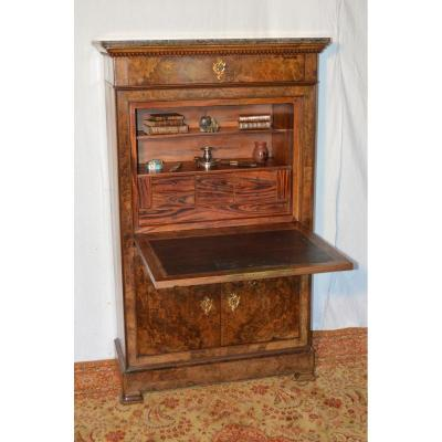 Secretaire Ancien On Proantic Louis Philippe Charles 10th 19th Century