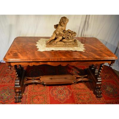 Middle Table Neo Renaissance Walnut XIX