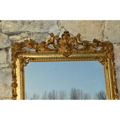 Large Fireplace Mirror
