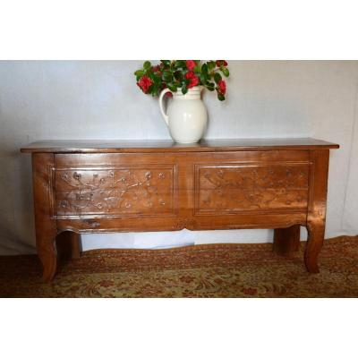 Charentais Chest In Cherry Wood