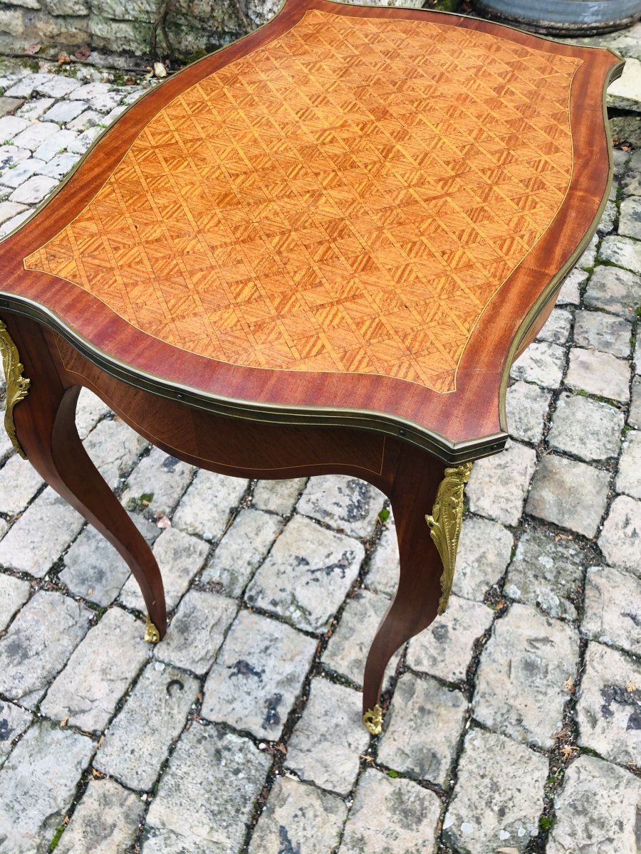 Marquetry Coffee Table