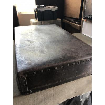 Numbered Louis Vuitton Riveted Box