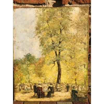 Déjeuner sur l'herbe impressioniste Putz Emile