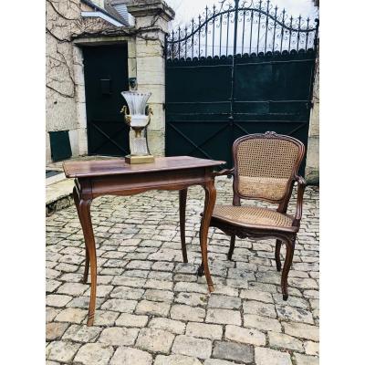 18th Century Walnut Desk Table